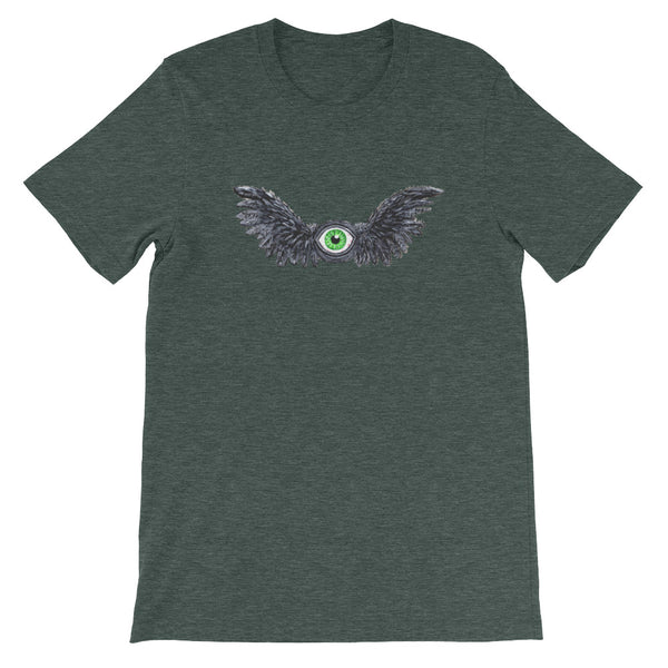Winged Eye T-shirt Short-Sleeve Unisex Eyeball with Wings Shirt - Morphe