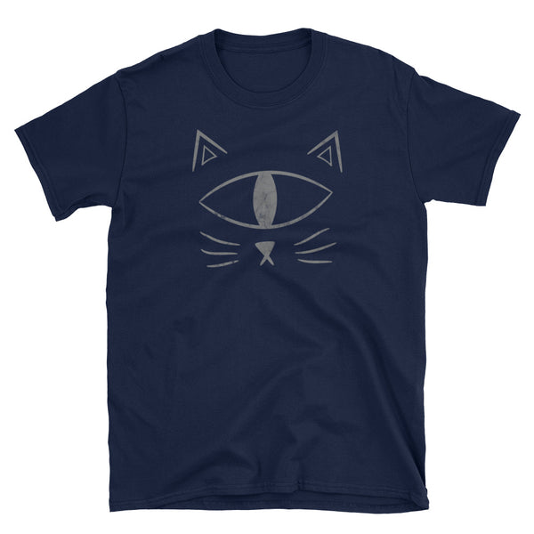Cat T-shirt Short-Sleeve Unisex Distressed Shirt Eyespyatl - Morphe