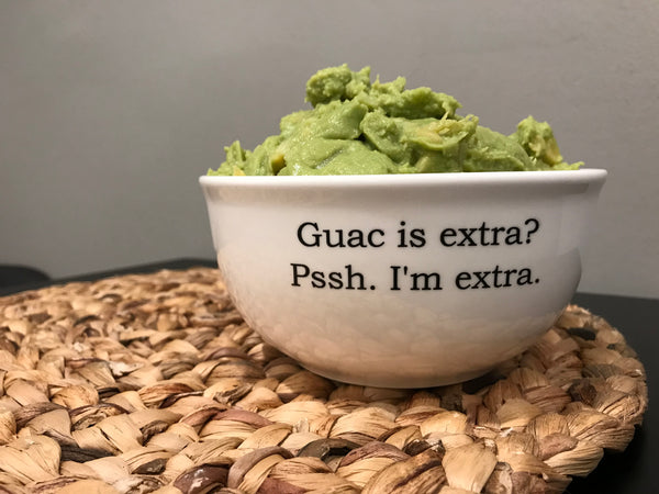 Guac is Extra Large Dip Bowl