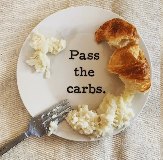 Pass the Carbs Plate