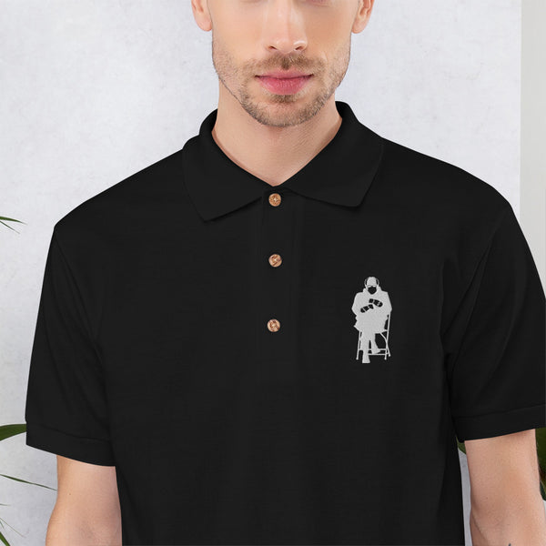 Feel the Bern Embroidered Polo Shirt