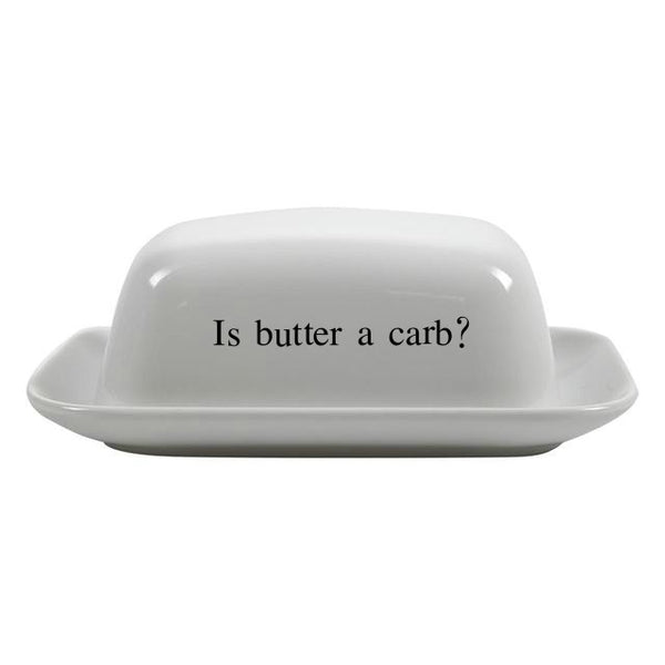 Is Butter a Carb? Ceramic Butter Dish