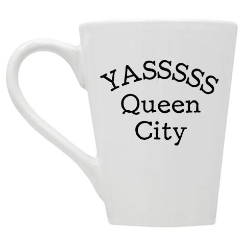 Yasssss Queen City Mug