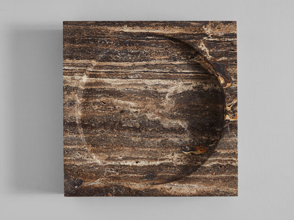 Block Big Poche Black Travertine