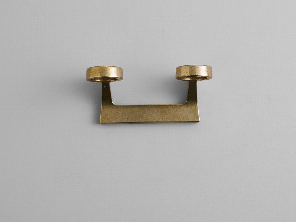 Bottle Bracket Brass