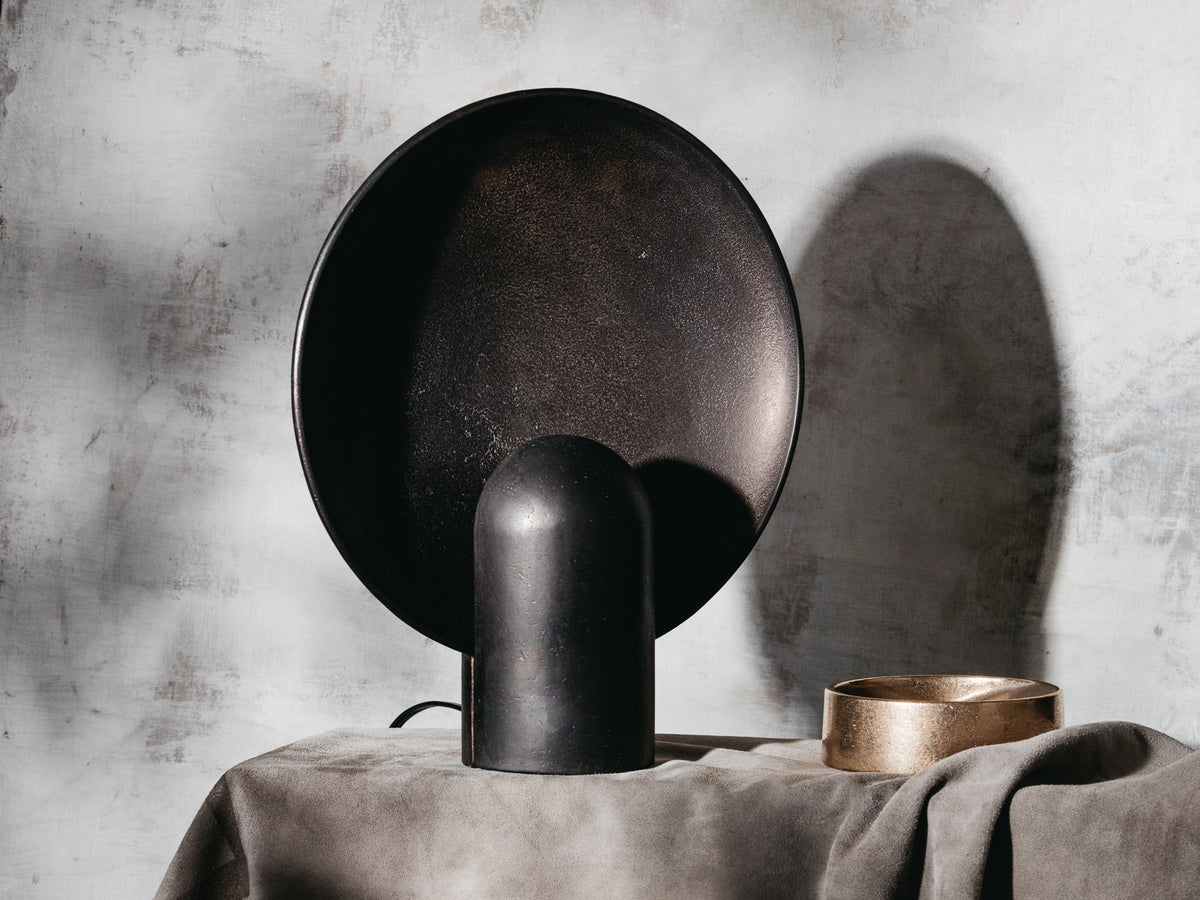 Surface Sconce Blackened Bronze
