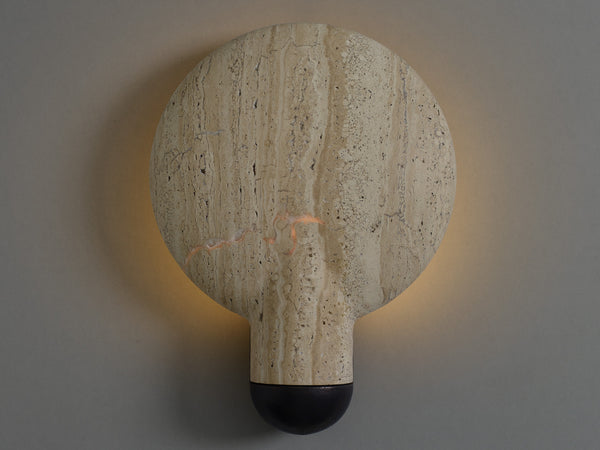 Surface Wall Sconce Classico Travertine
