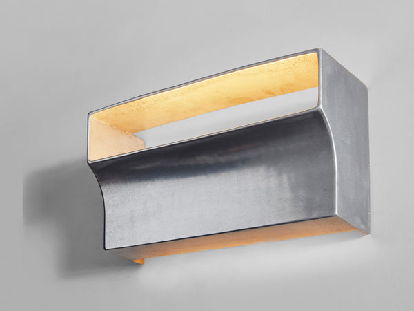 Scoop Wall Light Aluminium
