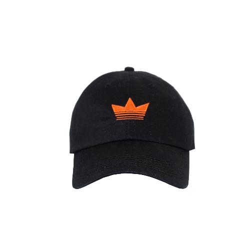 Premier Dad Cap - Black/Orange