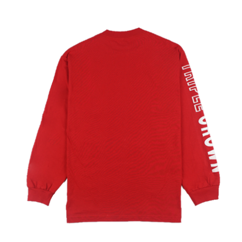 Crown LS Tee - Red