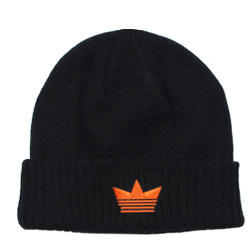 Encore Beanie - Black/Orange