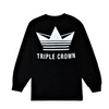 Crown Enthusiast LS Tee - Black/White