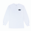 Crown Enthusiast LS Tee - White/Black