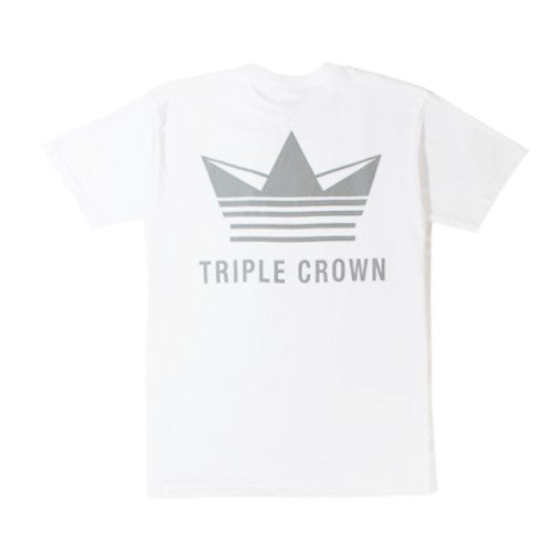 Crown Enthusiast Tee - White/Gray