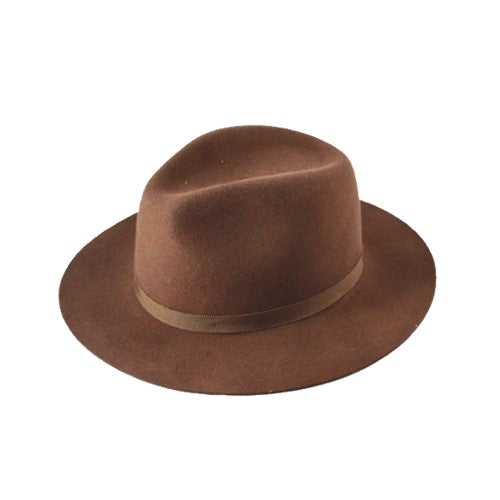 Homestead Fedora - Pecan