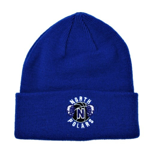 Polar Basketball Beanie - Blue