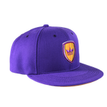 Shield Snapback - Purple/Gold