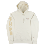 Triple Crown Signature Hoodie - Ivory