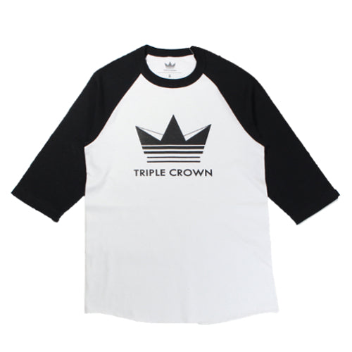 Triple Crown Logo Baseball Tee
