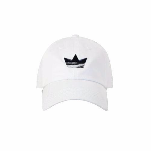 Premier Dad Cap - White/Black