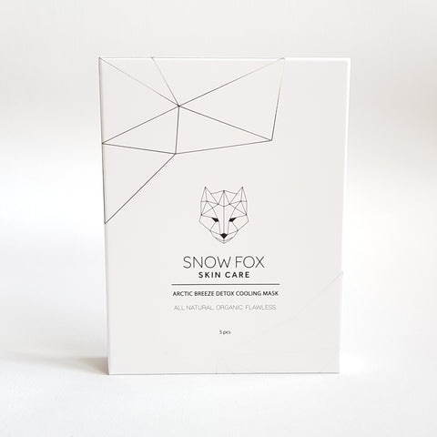 Snow Fox Arctic Breeze Detox Mask 25ml x 5 pieces