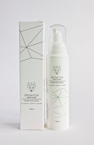 Snow Fox Soothing Facial Mousse 150ml