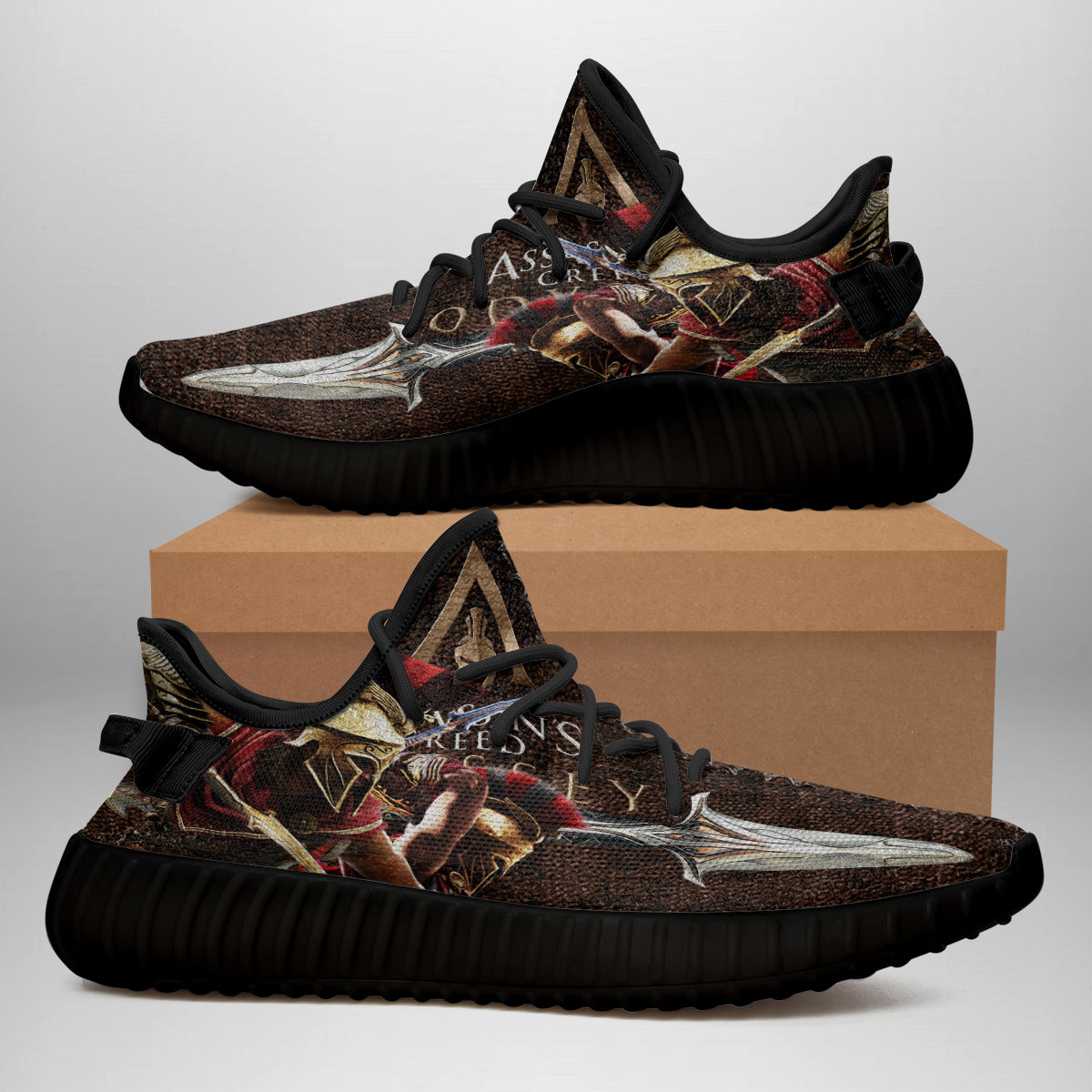 Assassin S Creed Shoe Men S And Women S Yeezy 3d Gift For Fan 15