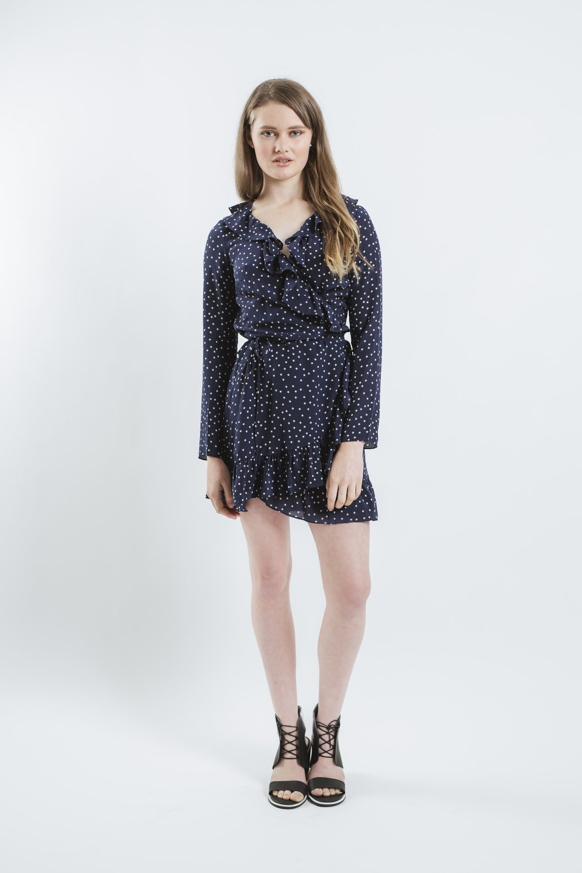 Realisation Par Alexandra Dress In Navy All The Dresses