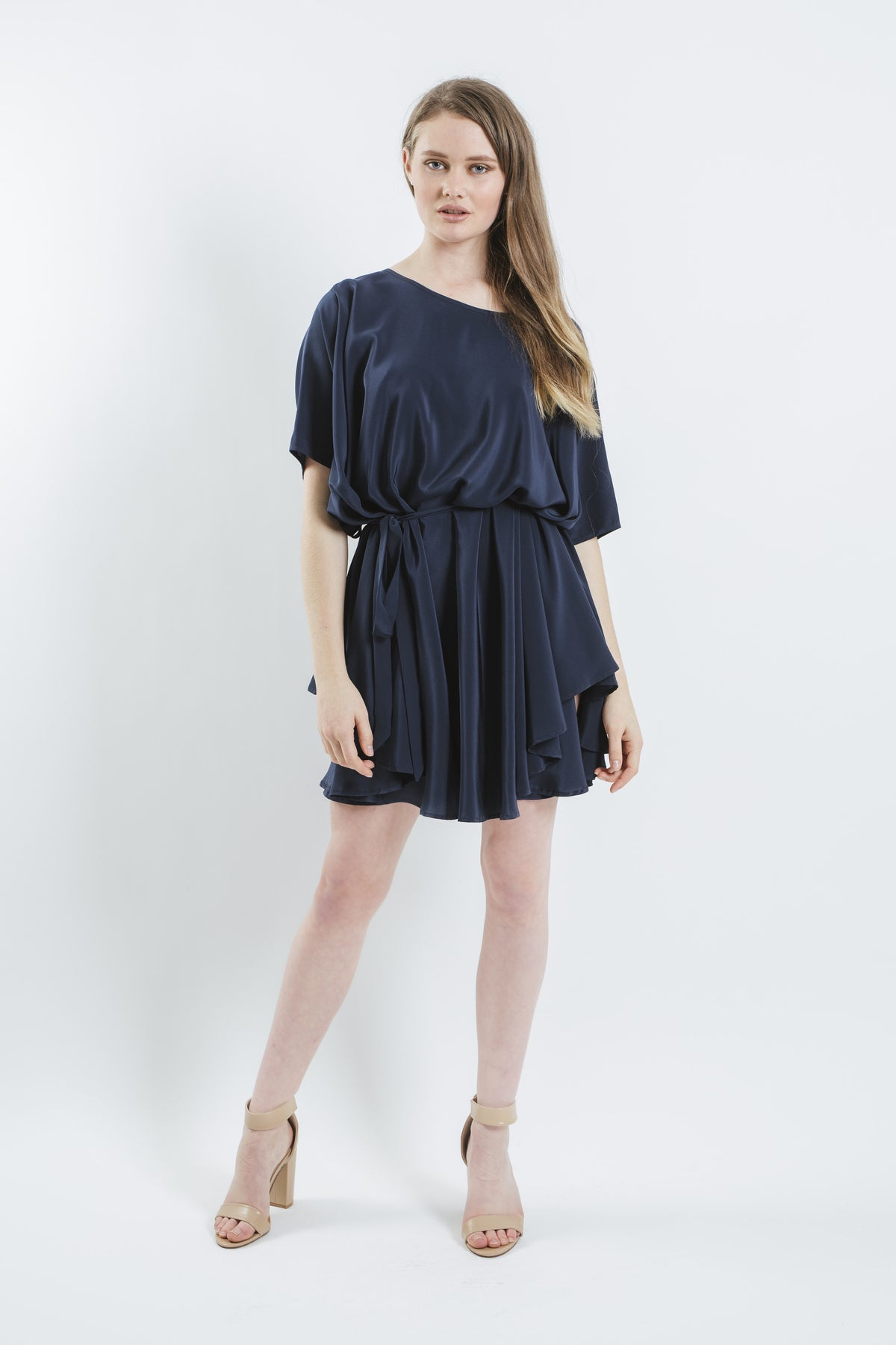 ef39b8698de Miss Crabb - Rise Dress Navy