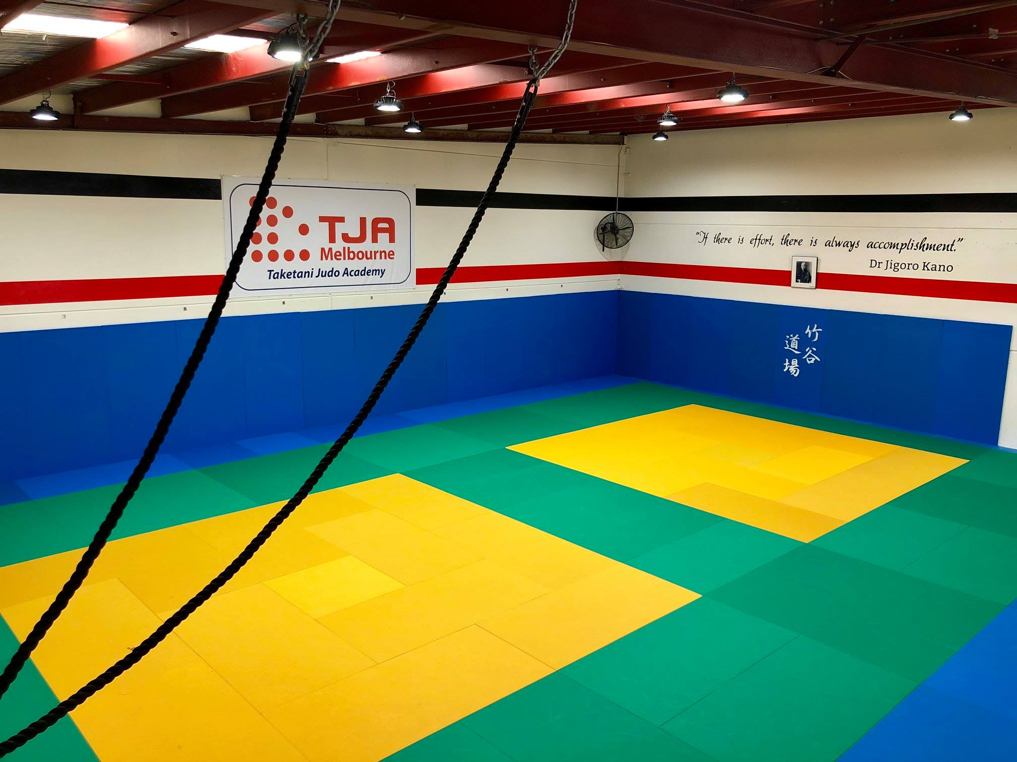 New location for Taketani Judo academy in south oakleigh