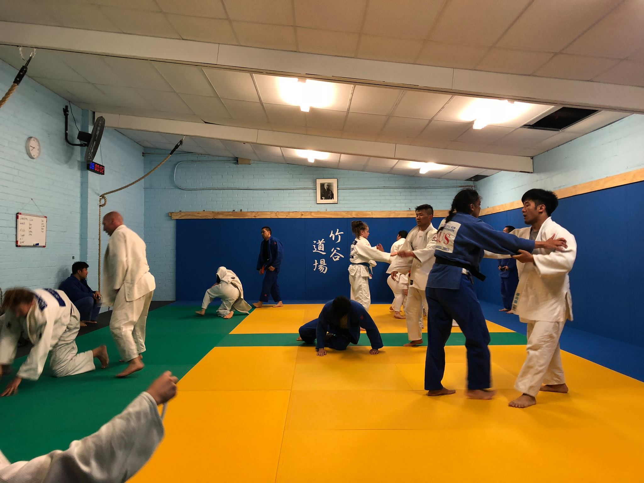 The old Taketani Judo Academy Dojo in Oakleigh