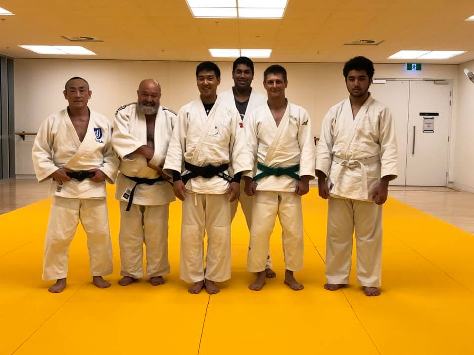 UniSa Judo Club in Adelaide group photo Judokas