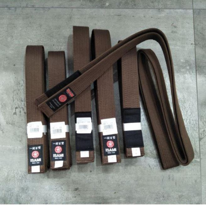 ISAMI Brown belt
