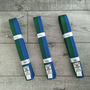 DanRho Green-Blue Junior Belt for Judo