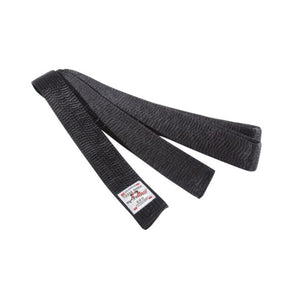 DanRho Budo belt in black rayon Australia