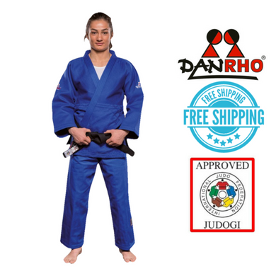 Danrho IJF Approved Judo Gi Ultimate Blue