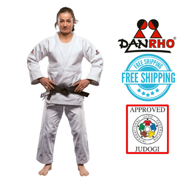Danrho IJF Approved Judo Gi Ultimate White
