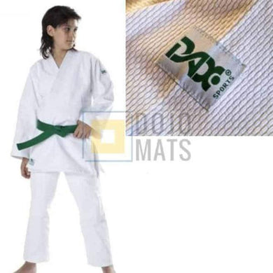Kids Judo Gi White Single Weave