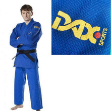 Load image into Gallery viewer, Double Weave Judo Gi 750GSM by Dax Sports blue