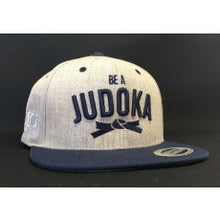 "Load image into Gallery viewer, Judo ""Be a Judoka"" Snapback Cap - IPPON GEAR"