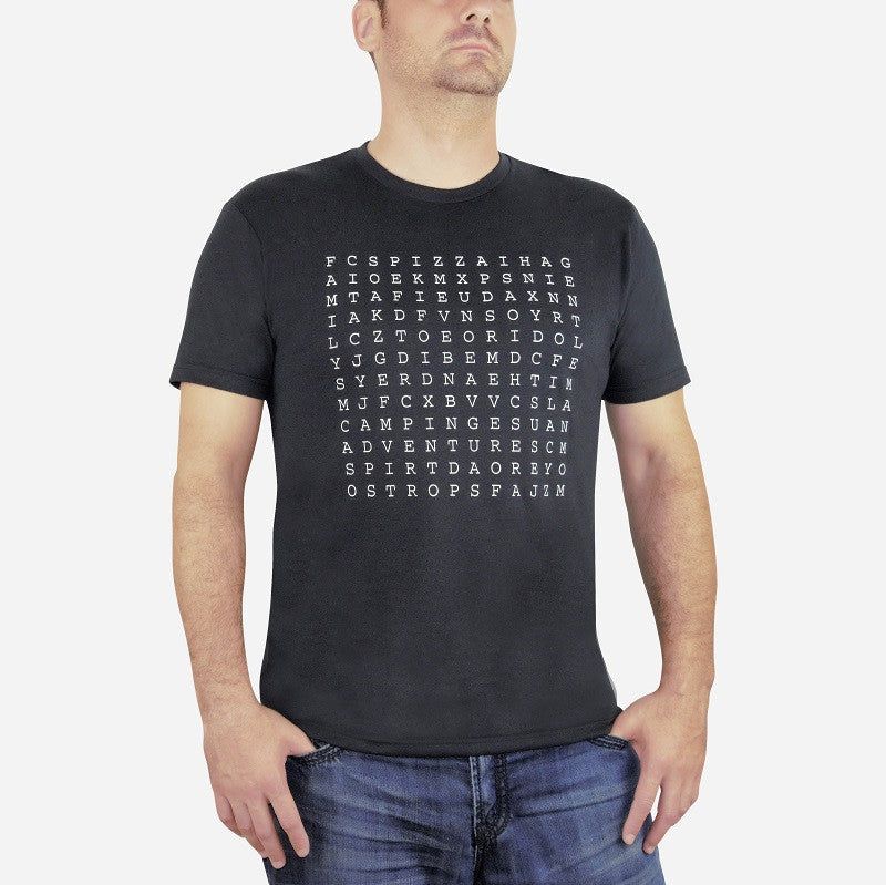 Word Search tee