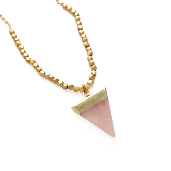 Triune Slice Necklace