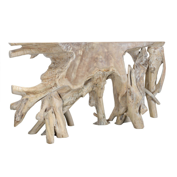 Banyan Root Console Table