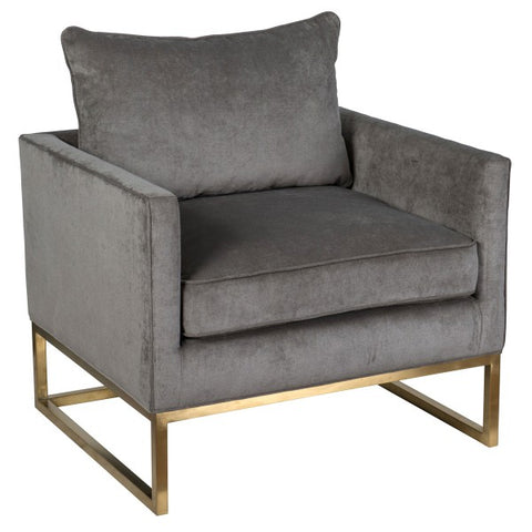 Dana Club Chair Platinum
