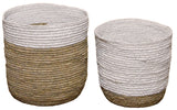 White & Neutral Basket Set