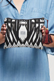 Aztec Motif Makeup Bag