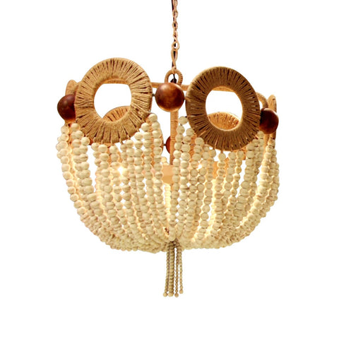 Mayfair Ivory Beaded Chandelier