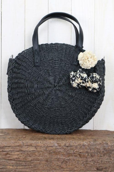 Hand Woven Straw Bag