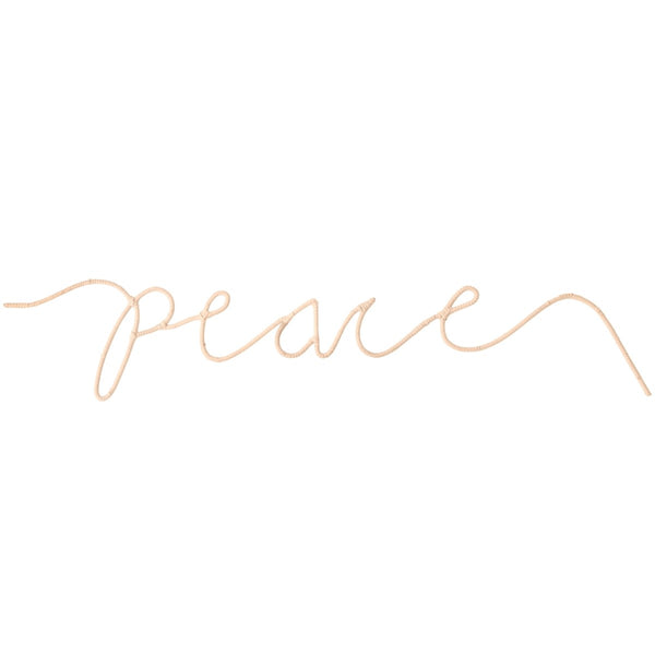 Peace Word Art
