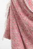 Diamond Patterned Cotton Throw